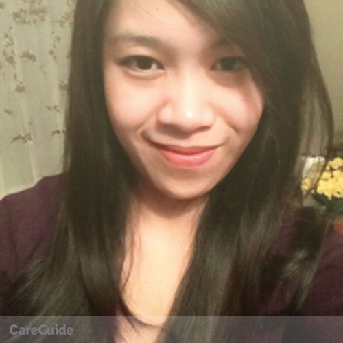 Canadian Nanny Provider Jonalyn Lucena's Profile Picture