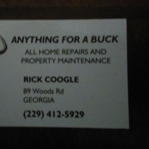 Handyman Provider Ricky Coogle's Profile Picture