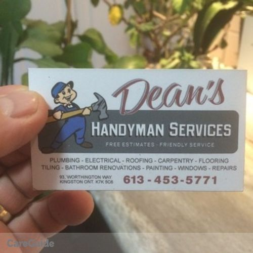 Handyman Provider Dean N's Profile Picture