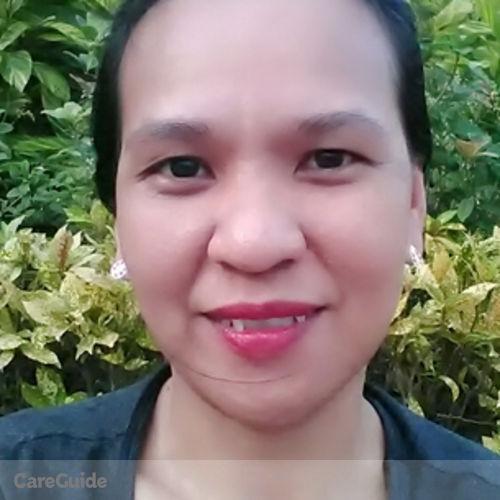 Canadian Nanny Provider Ginarose Pastor's Profile Picture