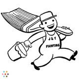 Painter in Villa Rica