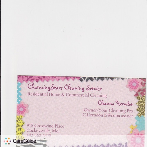 Housekeeper Provider CharmingStars Cleaning Service's Profile Picture