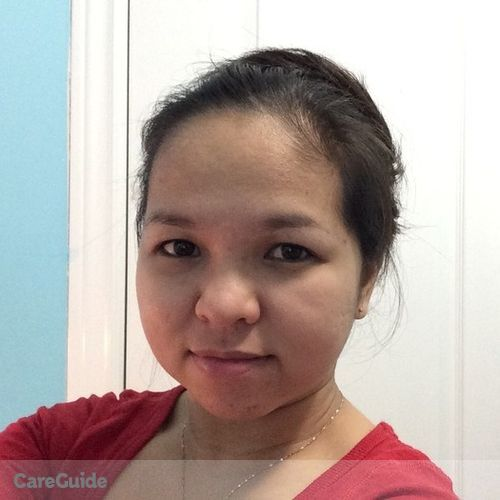 Canadian Nanny Provider Marry lussel R's Profile Picture