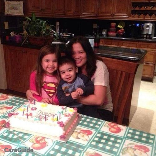 Canadian Nanny Provider Maria Teresita R's Profile Picture