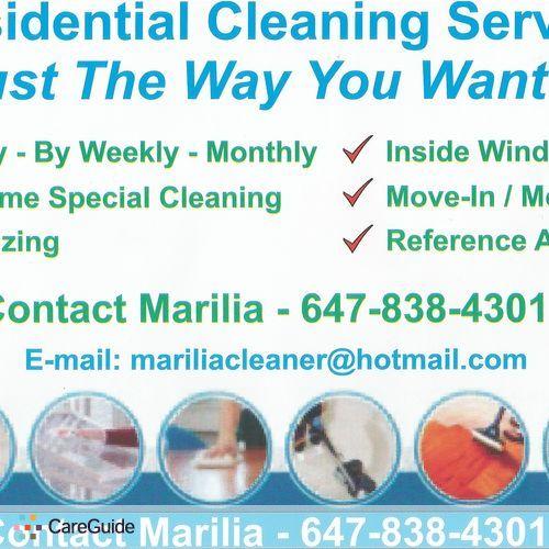 Housekeeper Provider Marilia Vasconcelos's Profile Picture