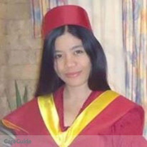 Canadian Nanny Provider Maria Lourdes Tarnate's Profile Picture