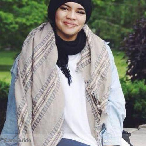 Canadian Nanny Provider Aisha M's Profile Picture