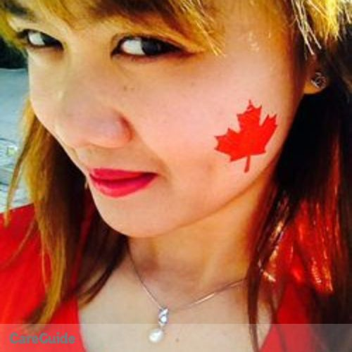 Canadian Nanny Provider Romelyn Jane A's Profile Picture