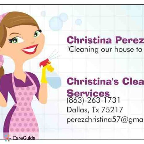 Housekeeper Provider Christina Perez's Profile Picture