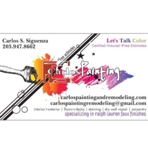 Painter Provider Carlos Siguenza's Profile Picture