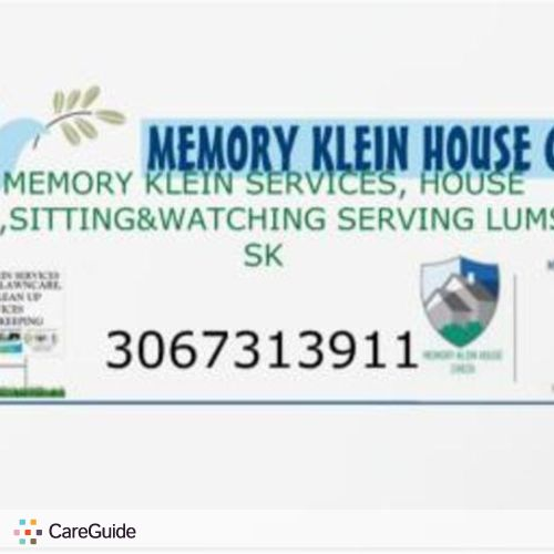 House Sitter Provider Memory Klein's Profile Picture
