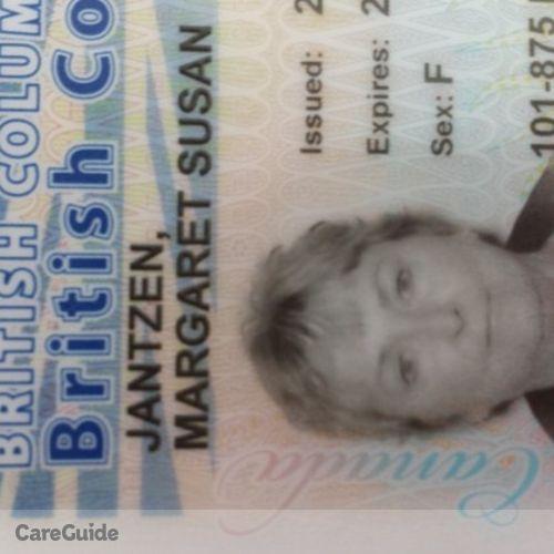 Canadian Nanny Provider Susan Jantzen's Profile Picture