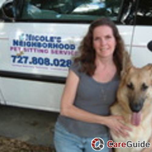 Pet Care Provider Nicole's Profile Picture