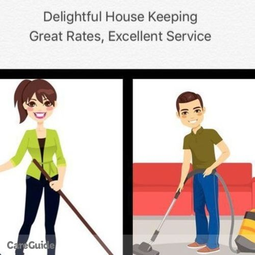 Housekeeper Provider Delightful House Keeping Services's Profile Picture