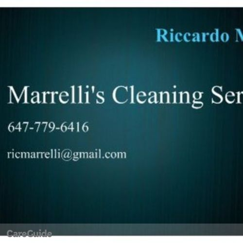 Housekeeper Provider Riccardo Marrelli's Profile Picture