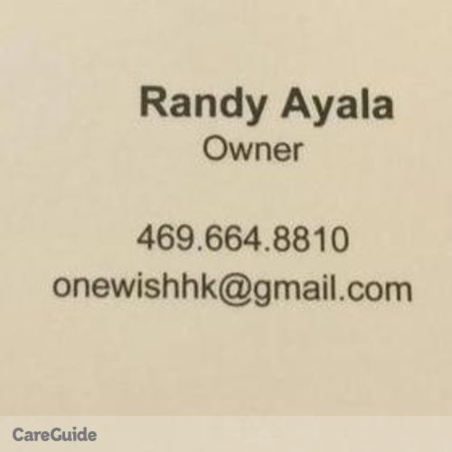 Housekeeper Provider Randy Ayala's Profile Picture