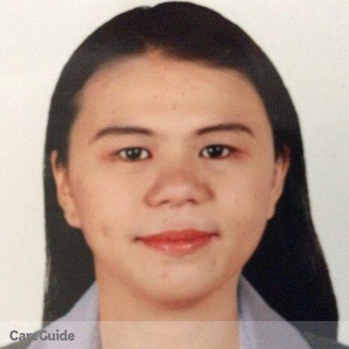 Canadian Nanny Provider Vanessa Sio's Profile Picture