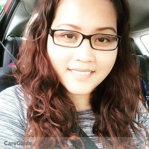 Canadian Nanny Provider Marissa Legaspi's Profile Picture