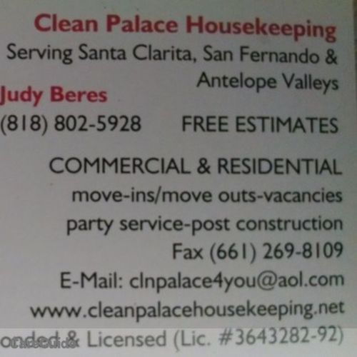 Housekeeper Provider Judy Beres's Profile Picture