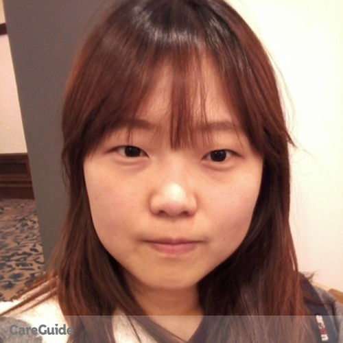 Canadian Nanny Provider Jane(Sanghee) Mo's Profile Picture