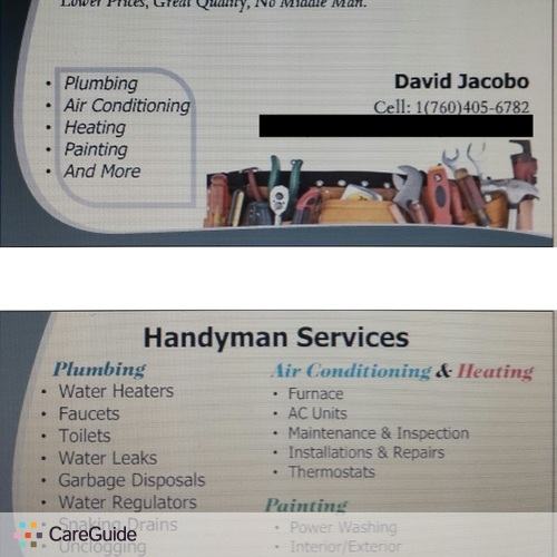 Handyman Provider David Jacobo's Profile Picture
