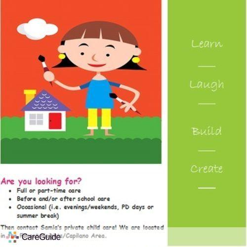 Child Care Provider Samia G's Profile Picture