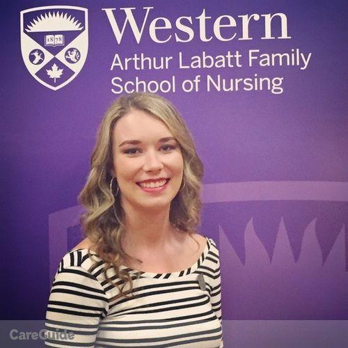 Canadian Nanny Provider Nadia Ackworth's Profile Picture