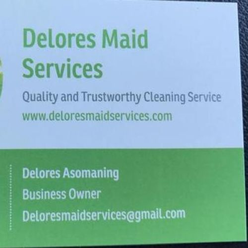 Housekeeper Provider Delores A's Profile Picture