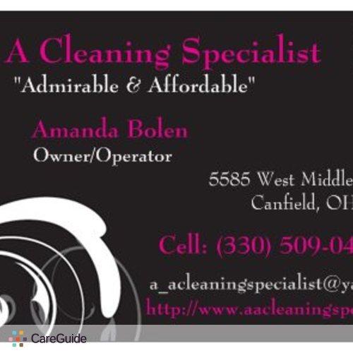 Housekeeper Provider AMANDA BOLEN's Profile Picture