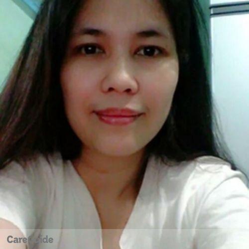 Canadian Nanny Provider Rowena C's Profile Picture