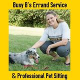 Need A Critter Sitter? Busy B's Errand Service and Professional Pet Sitting can help! Temple-Belton-Troy
