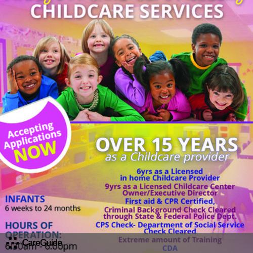 Child Care Provider Vanessa Carter's Profile Picture