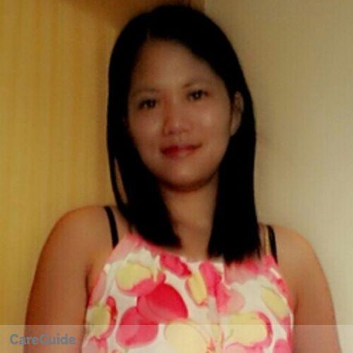 Canadian Nanny Provider Amalia Villarin's Profile Picture