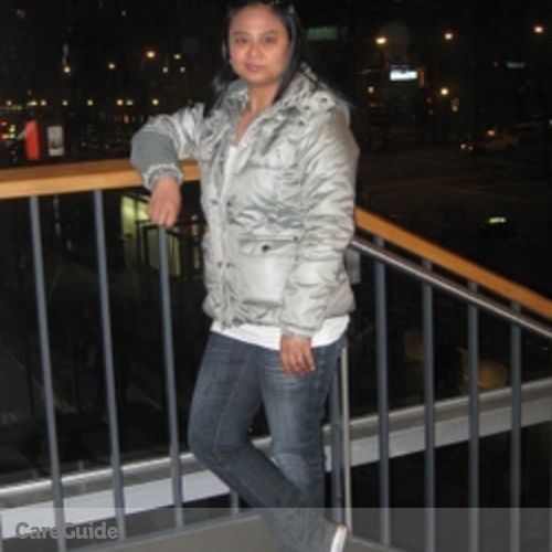 Canadian Nanny Provider Marlyn Madera's Profile Picture