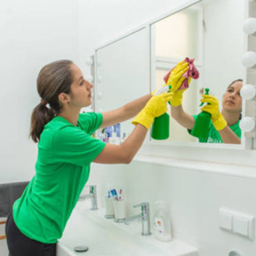 I regard cleaning as a job of trust and keep the homes clean above average