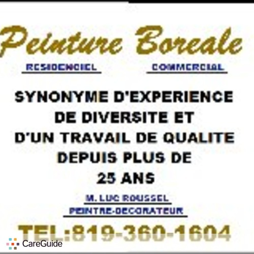 Painter Provider Luc Roussel's Profile Picture