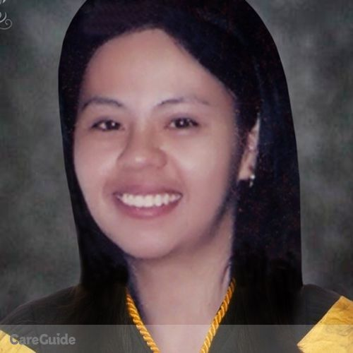 Canadian Nanny Provider Darlin Sagrada Oracion's Profile Picture