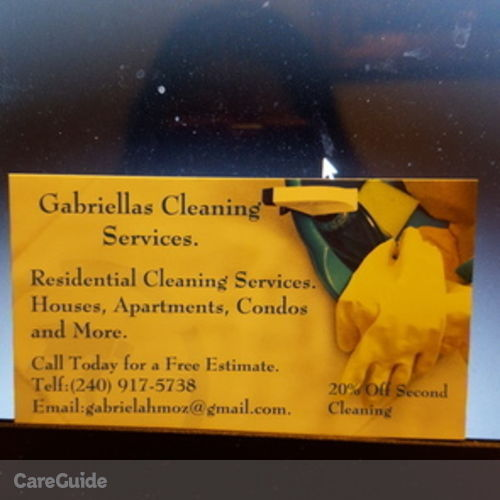 Housekeeper Provider Gabriella Moz's Profile Picture