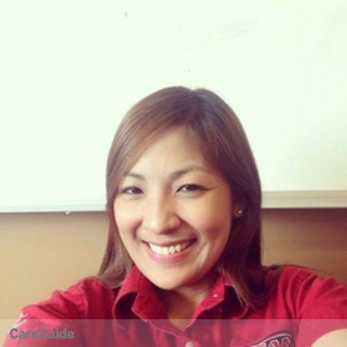 Canadian Nanny Provider Jezelou Matias's Profile Picture