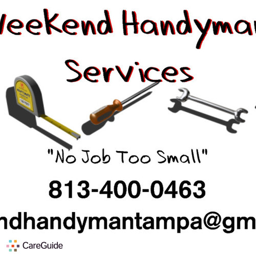 Handyman Provider Handy Man's Profile Picture