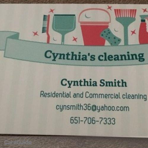Elder Care Provider Cynthia Smith's Profile Picture