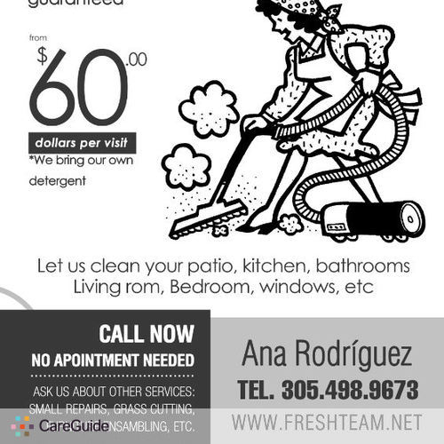 Housekeeper Provider Ana Rodriguez's Profile Picture