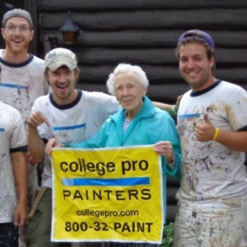 Painter Job College Pro Painters Gallery Image 3