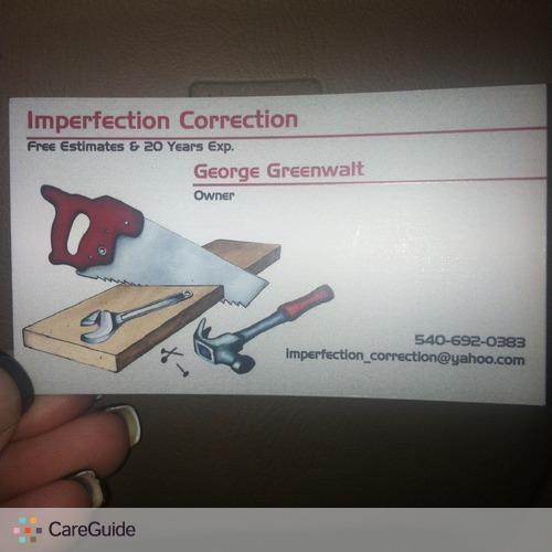 Handyman Provider Jamie N George Greenwalt's Profile Picture