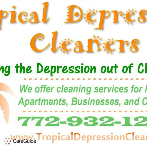 Housekeeper Provider Tropical Depression Cleaners's Profile Picture