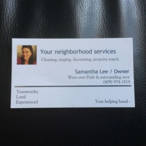 House Sitter Provider Samantha P's Profile Picture