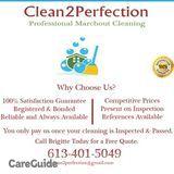 Post/Marchout/Rental/Real Estate Cleaner