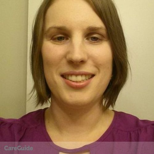 Canadian Nanny Provider Megan Mitchell's Profile Picture
