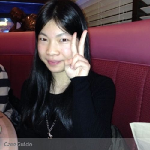 Canadian Nanny Provider Elaine Feng's Profile Picture