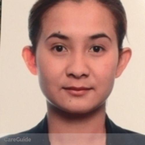 Canadian Nanny Provider Geraldine Manlupig's Profile Picture